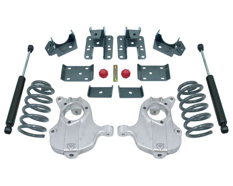MaxTrac KA331535-8 MaxPro Lowering Kit Extended/Crew Cab w/Stamped Steel Susp. 3in/5in 2WD GM C1500 16-18