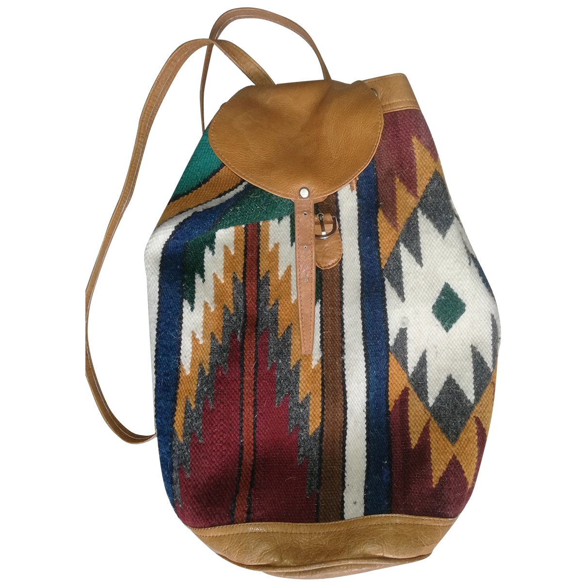 Non Signé / Unsigned \N Multicolour Wool backpack for Women \N