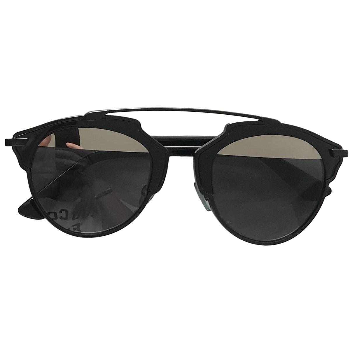 Dior So Real  Black Metal Sunglasses for Women \N