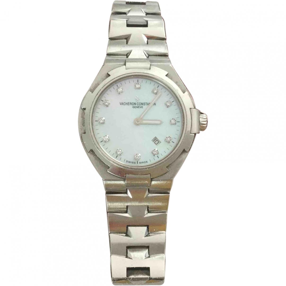 Vacheron Constantin Overseas Silver Steel watch for Women \N
