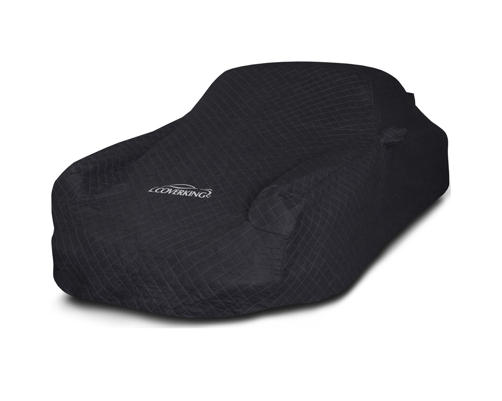 Coverking CVC2MV95HD9676 CVC2MV95 Moving Blanket Black Custom Car Cover Honda Fit 15-20
