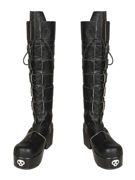 Milanoo Marvel Bishoujo X Men Cosplay Costume X 23 Logan Laura Kinney Cosplay Boot Shoes