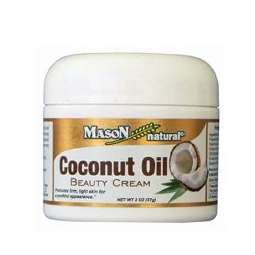 Coconut Oil Beauty Cream 2 oz by Mason