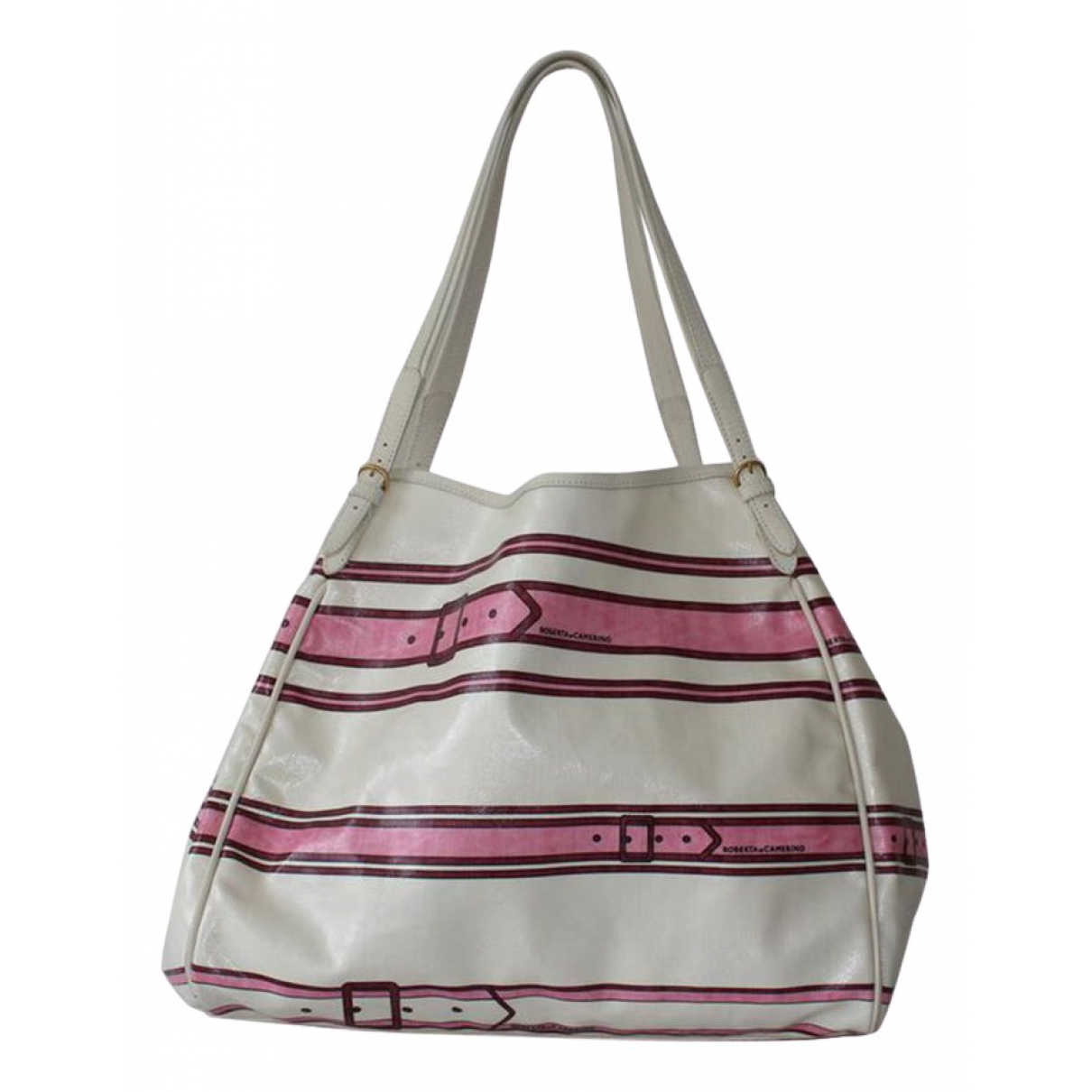 Non Signé / Unsigned \N White Cloth handbag for Women \N