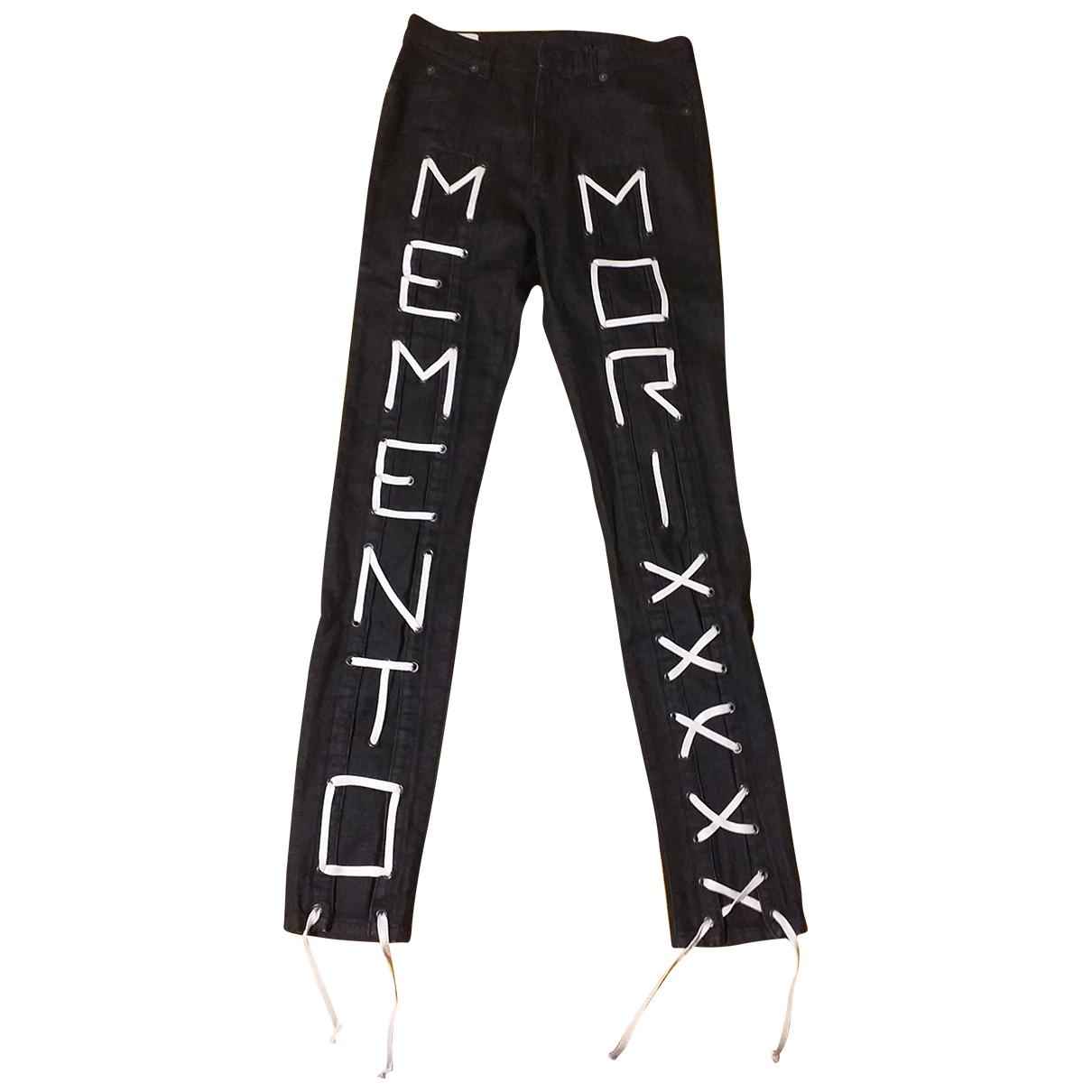 Gucci \N Black Cotton Jeans for Men 29 US