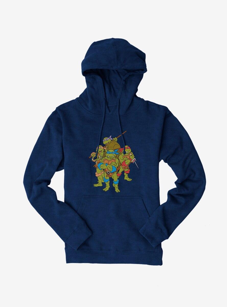 Teenage Mutant Ninja Turtles Group Pose Hoodie