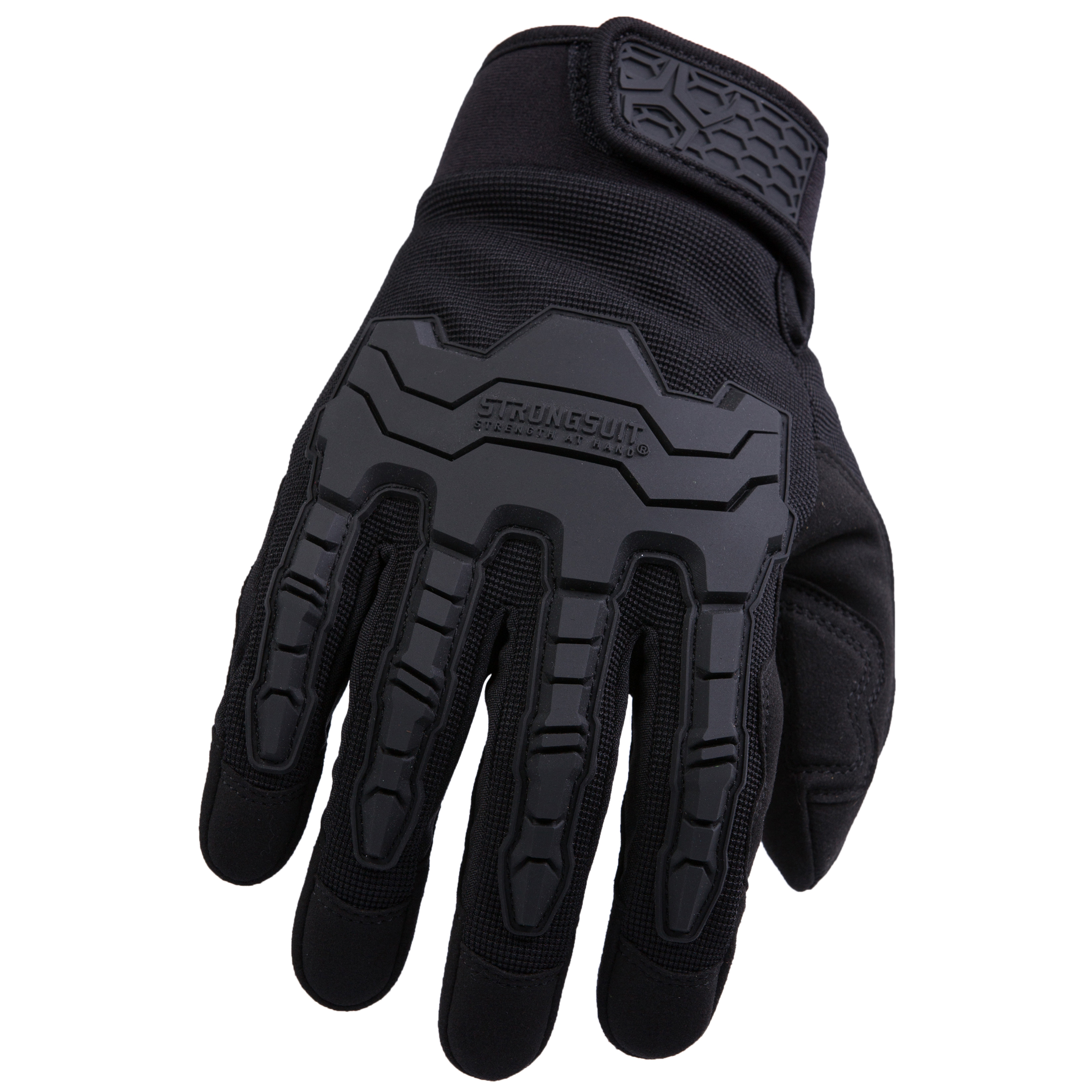 Brawny Plus Gloves, Black, Large