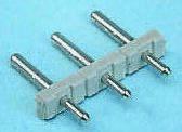 Wieland , Wiecon, 6 Way, 1 Row, Straight Pin Header (10)