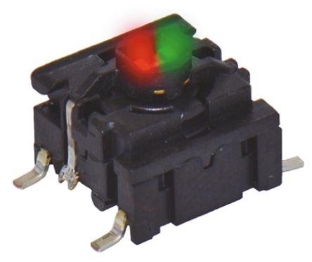 MEC IP67 Cap Tactile Switch, Single Pole Single Throw (SPST) 50 mA @ 24 V dc
