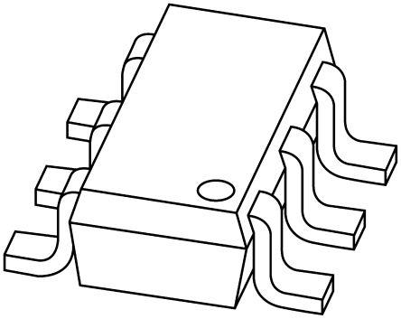 DiodesZetex Diodes Inc 40V 30mA, Schottky Diode, 6-Pin SOT-26 SDM03MT40-7-F (20)