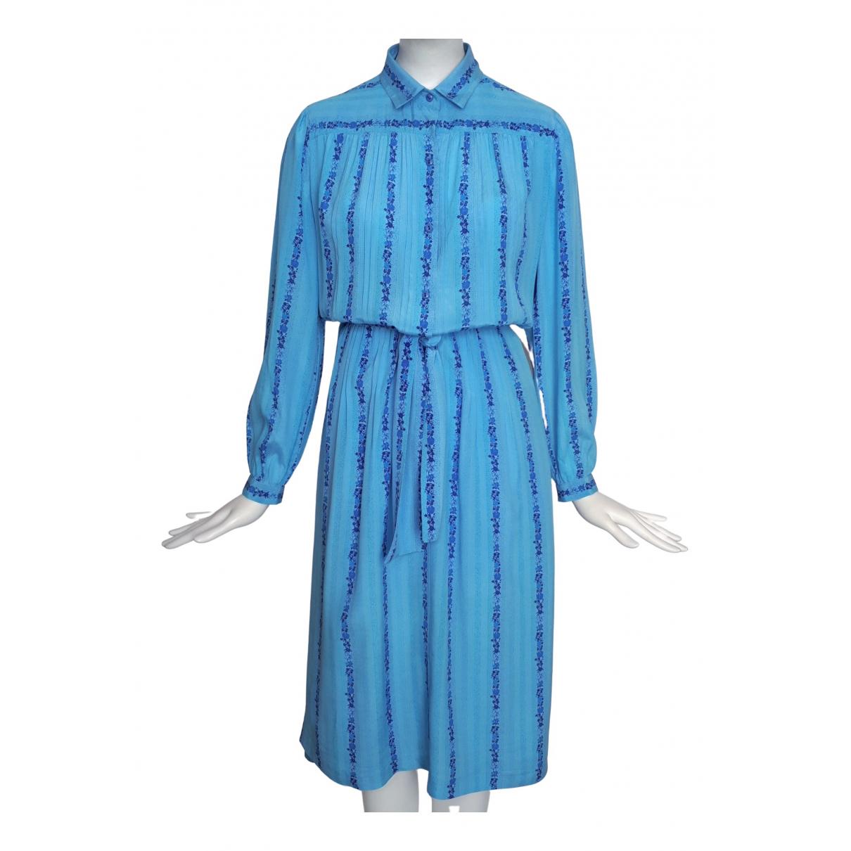 Louis Feraud \N Blue dress for Women 44 FR