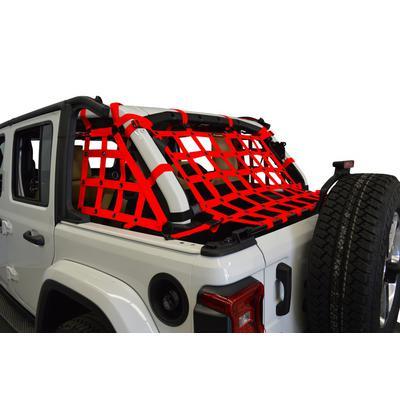DirtyDog 4x4 3-Piece Netting Kit (Red) - JL4N18RCRD