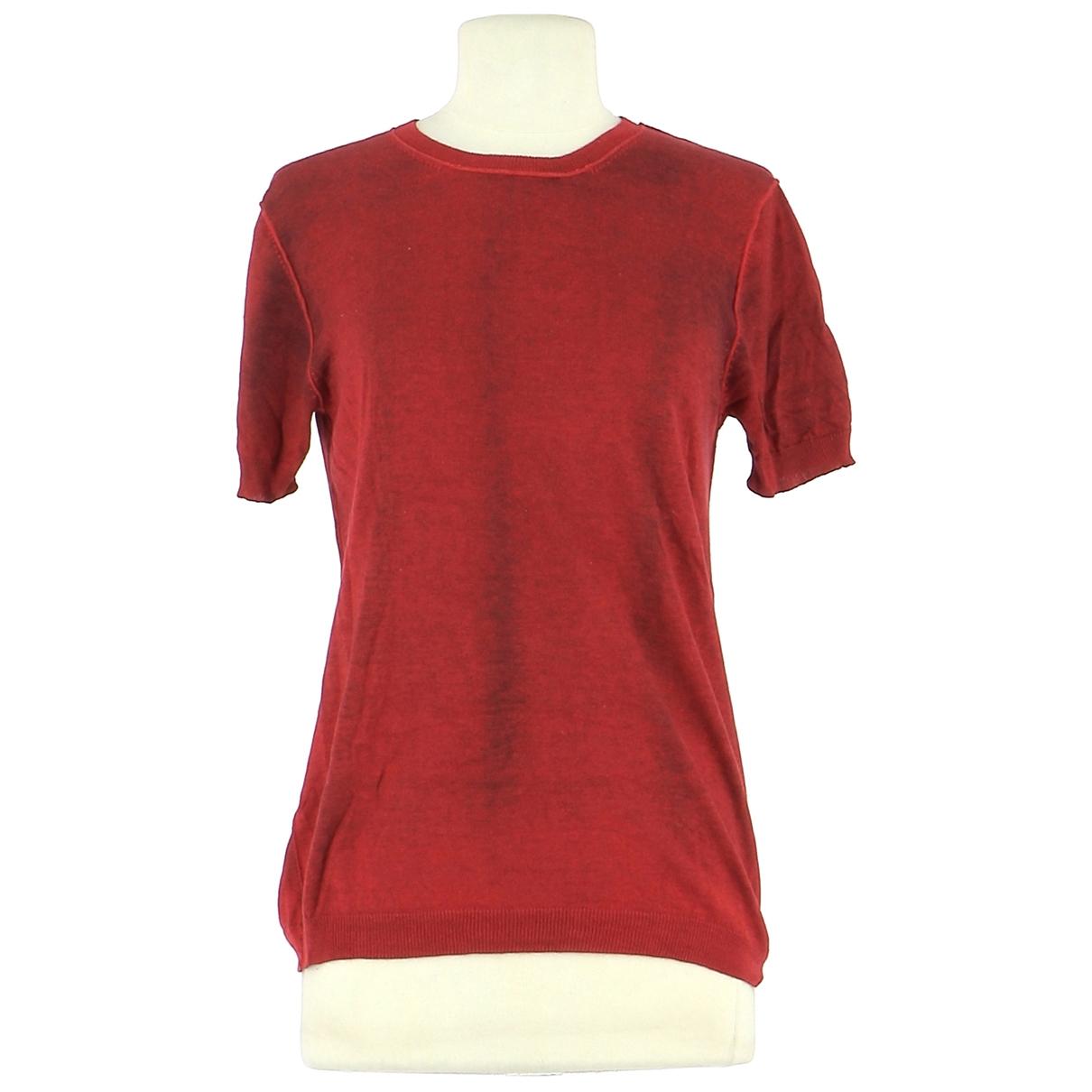 Jil Sander \N Red Silk Knitwear for Women 38 FR