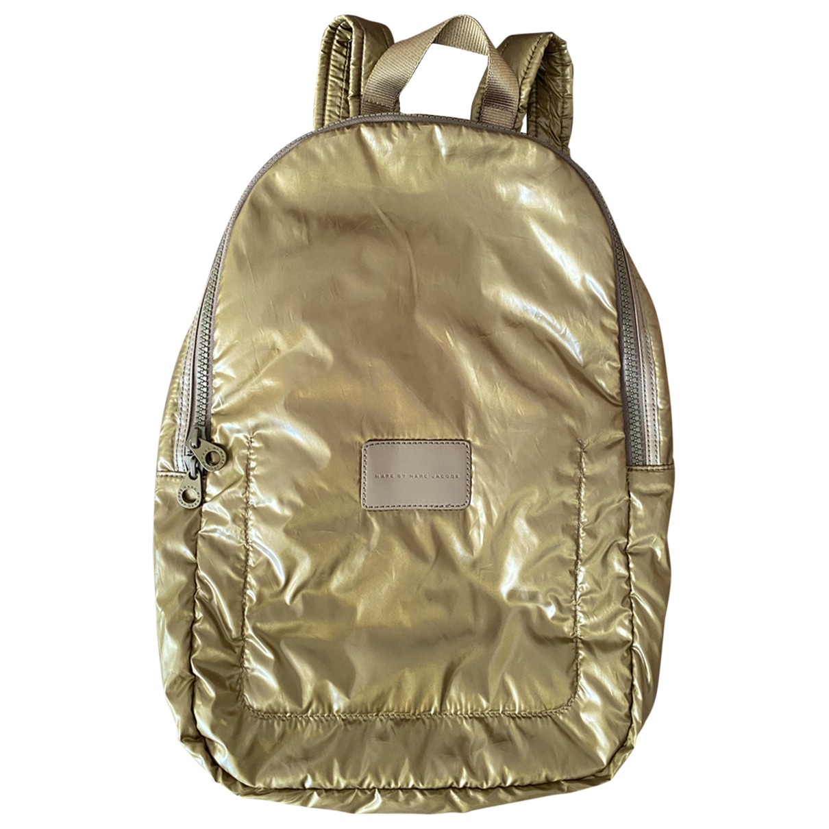 Marc By Marc Jacobs \N Gold Cloth backpack for Women \N