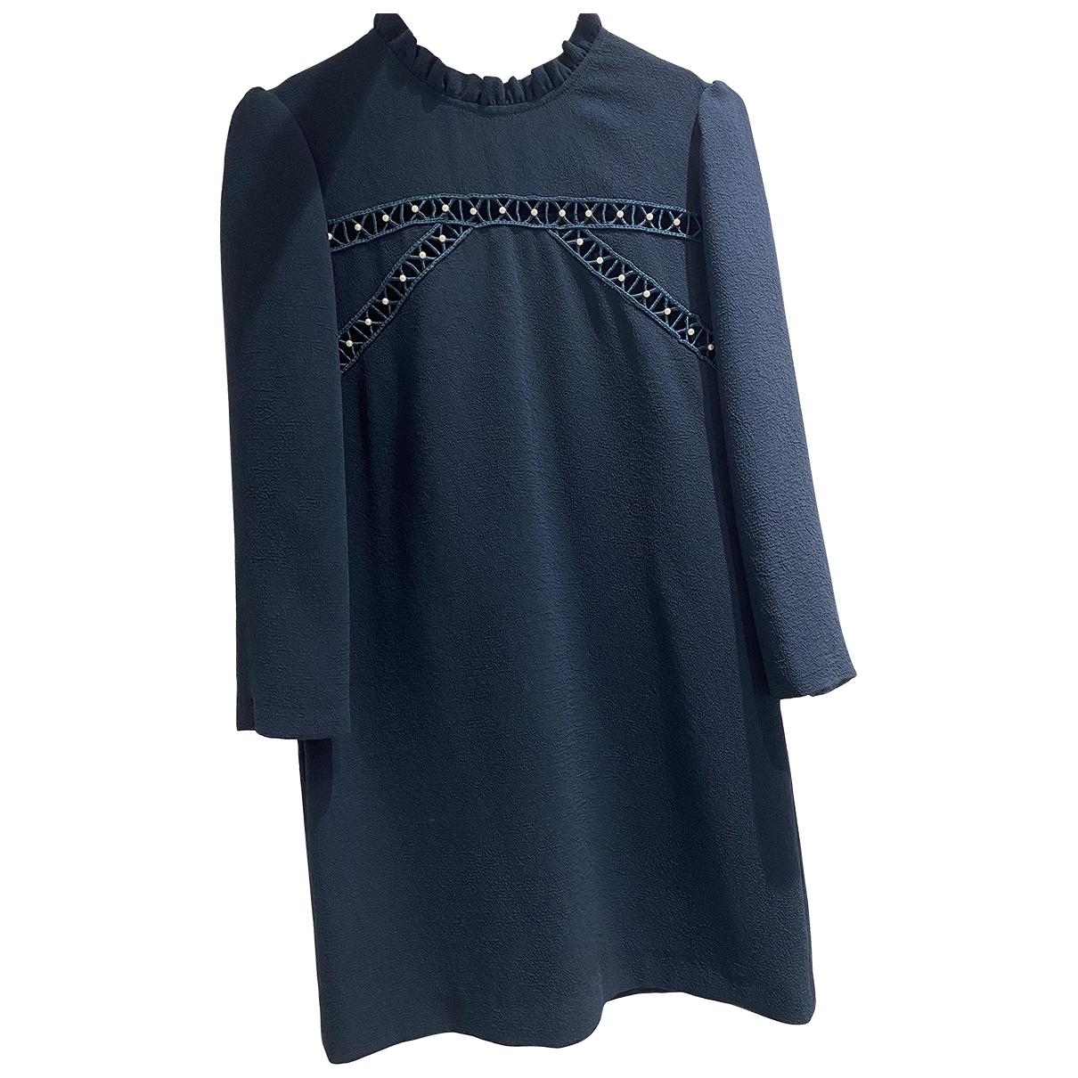 Sandro \N Green Cotton dress for Women 36 FR