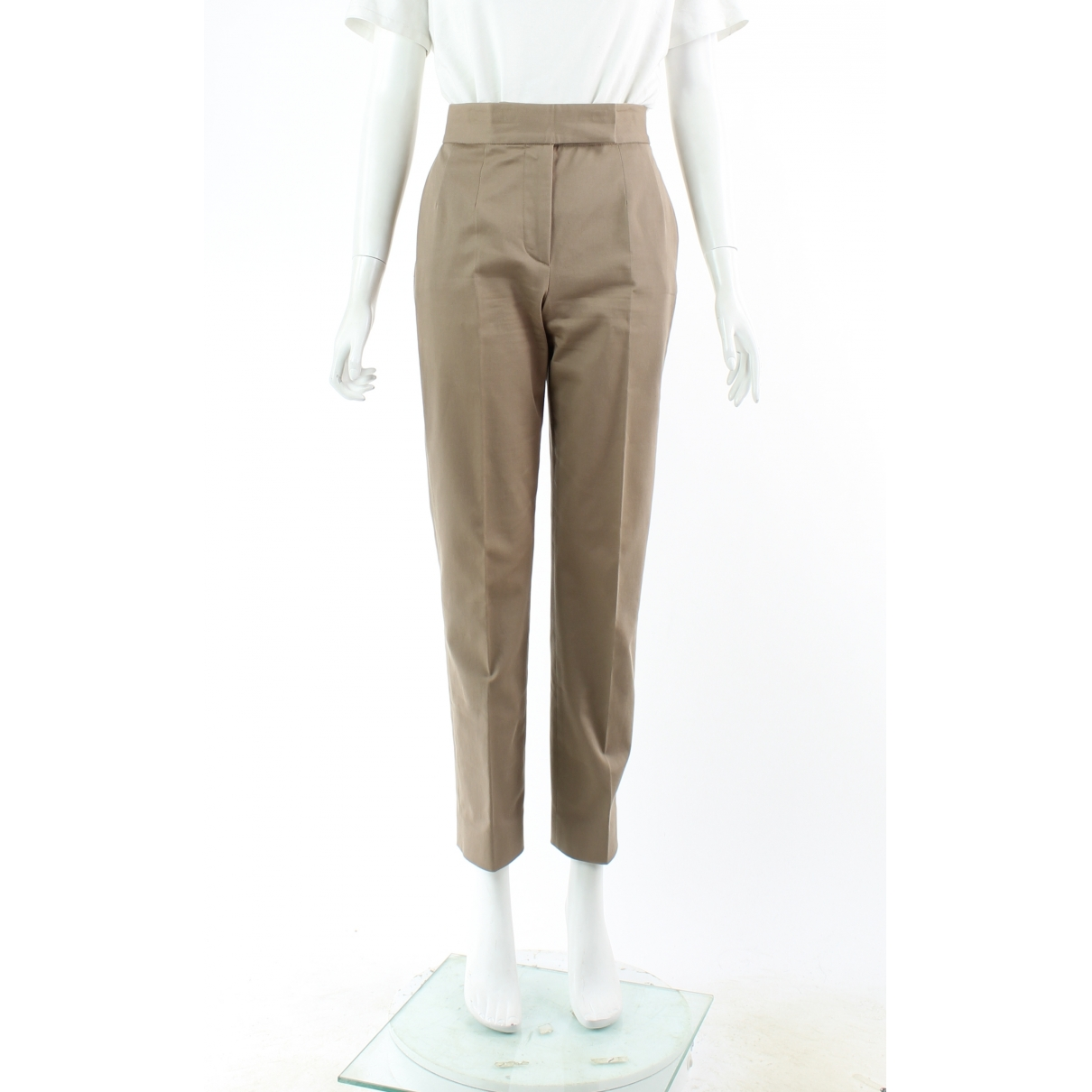 M Missoni \N Camel Cotton Trousers for Women 8 UK