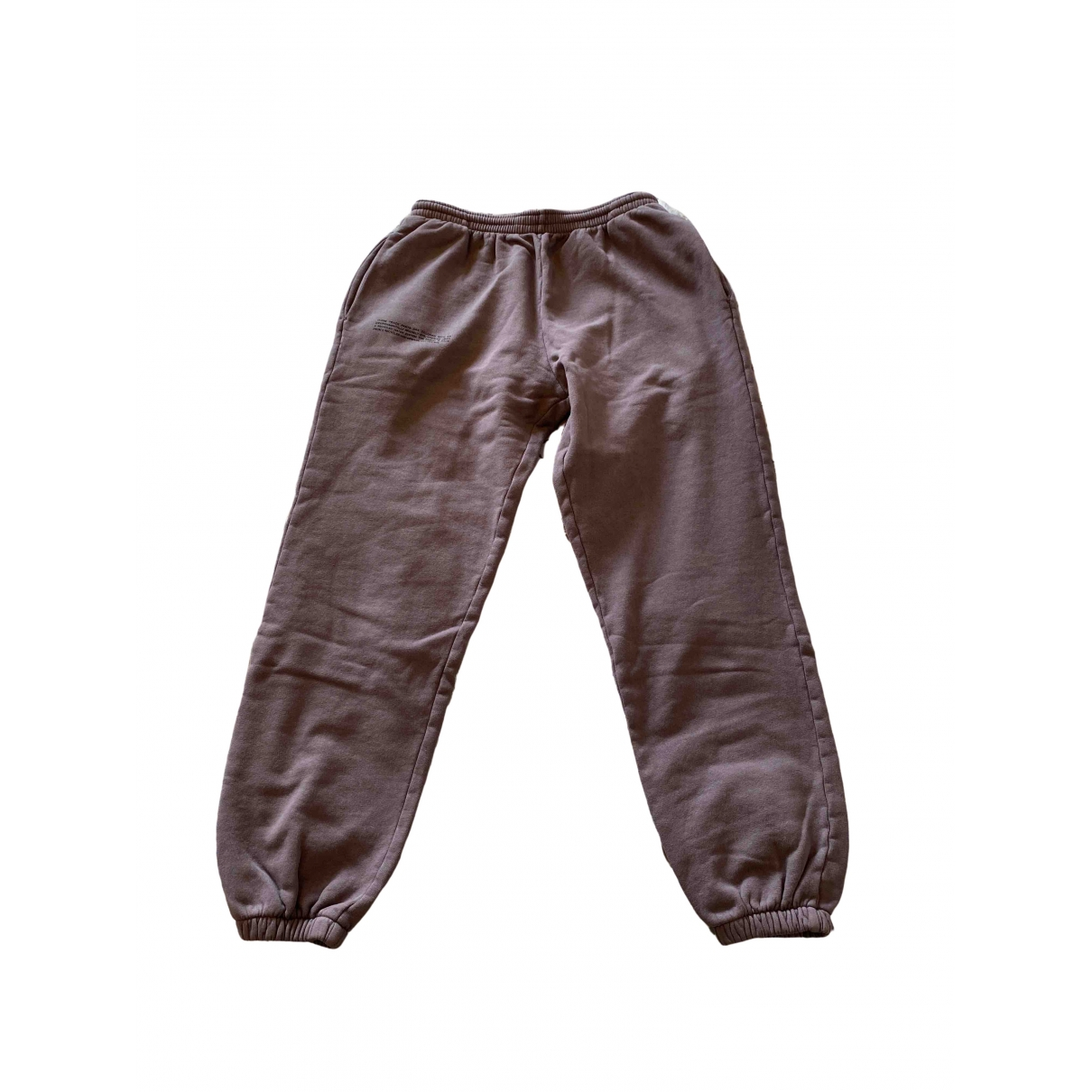 The Pangaia \N Purple Cotton Trousers for Women M International