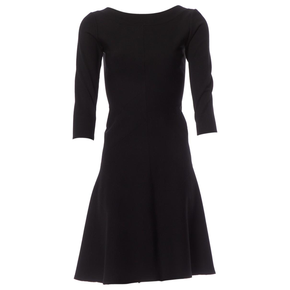 Alaïa \N Black Wool dress for Women 38 FR