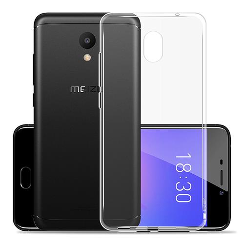 Transparent MEIZU M6 Silicone Case High Quality Protective TPU Phone Shell Back Cover