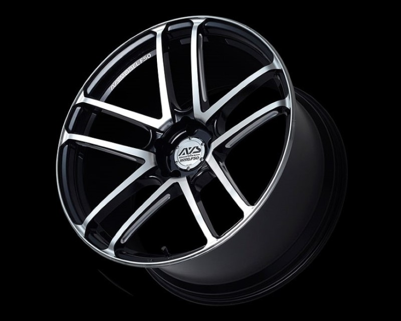AVS Model F50 Wheel 20x9 5x130 53mm Gloss Black Combi