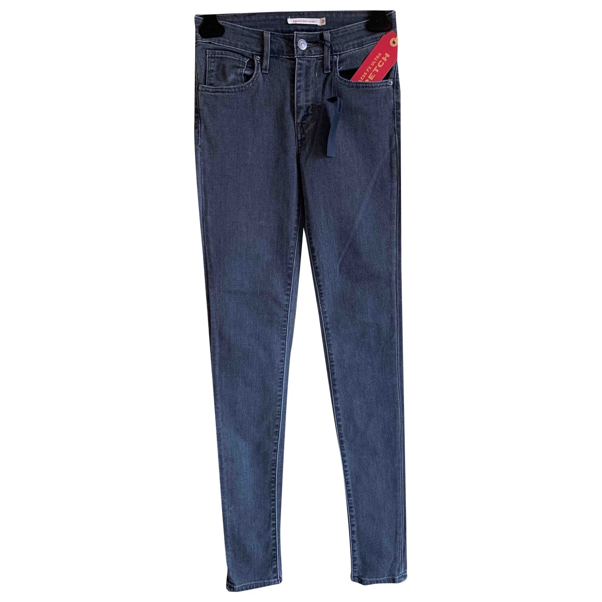 Levi's \N Grey Denim - Jeans Trousers for Women 38 IT