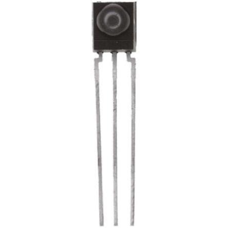 Vishay TSOP32236, 36kHz IR Receiver, 950nm, 45m Range, Through Hole, 6 x 5.6 x 6.95mm (5)