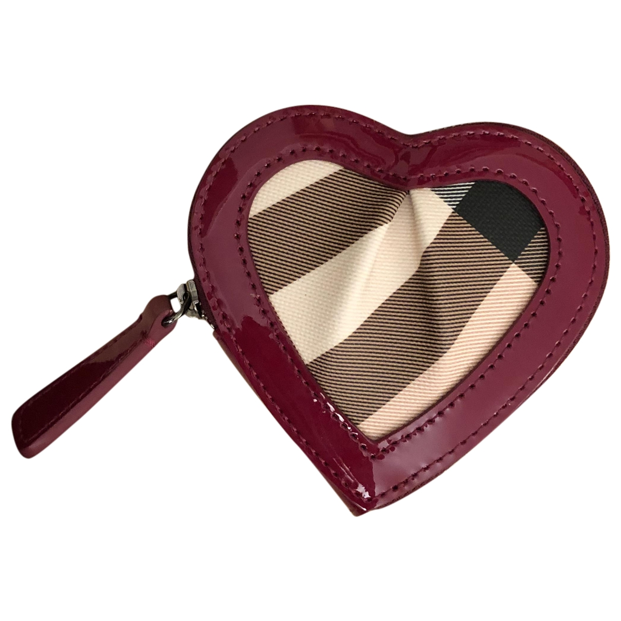 Burberry \N Red Cloth Purses, wallet & cases for Women \N
