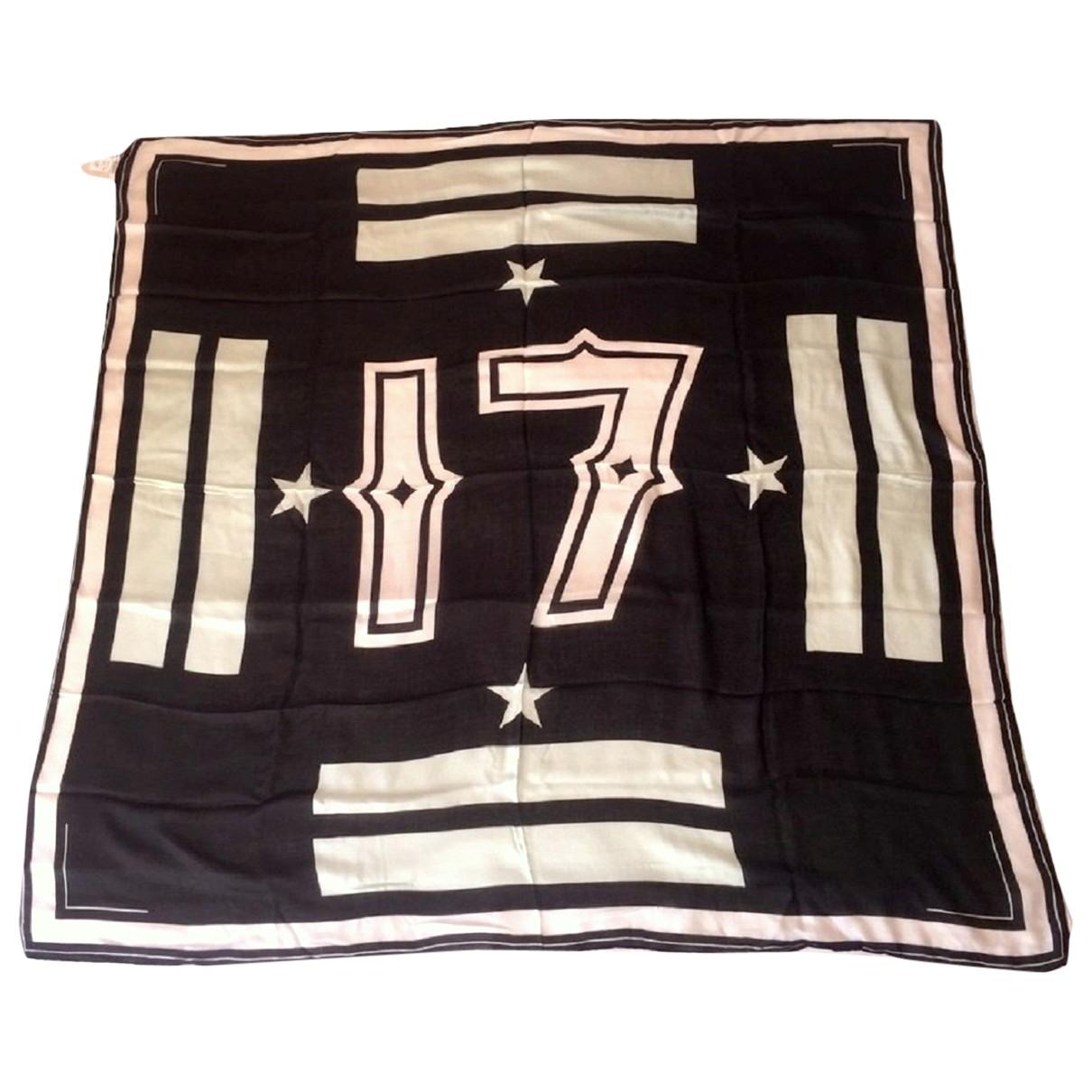 Givenchy \N Black scarf & pocket squares for Men \N