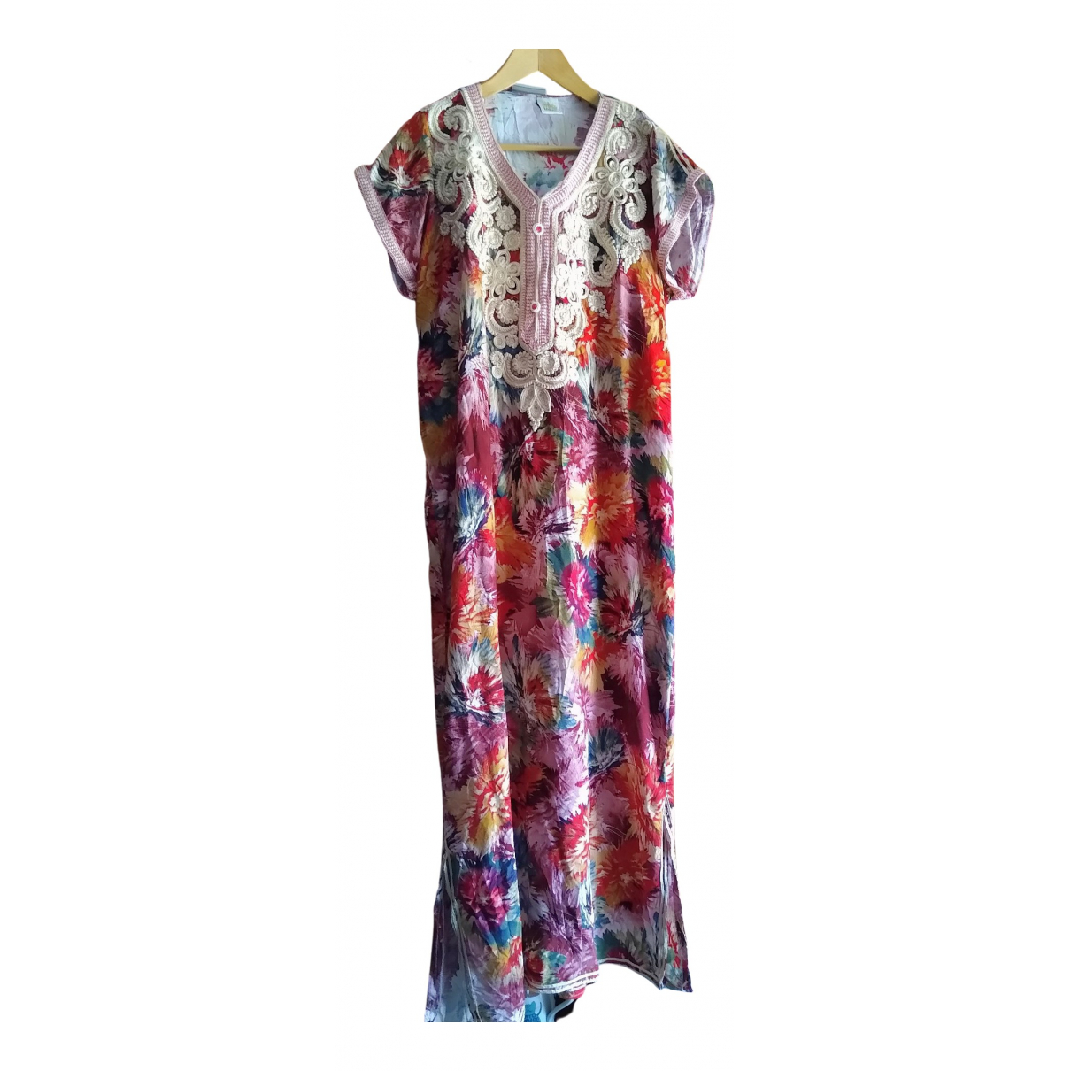 Non Signé / Unsigned \N Multicolour Cotton dress for Women L International