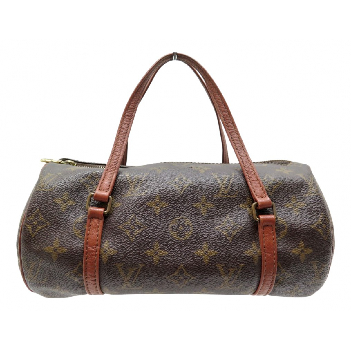 Louis Vuitton Papillon Brown Cloth handbag for Women \N