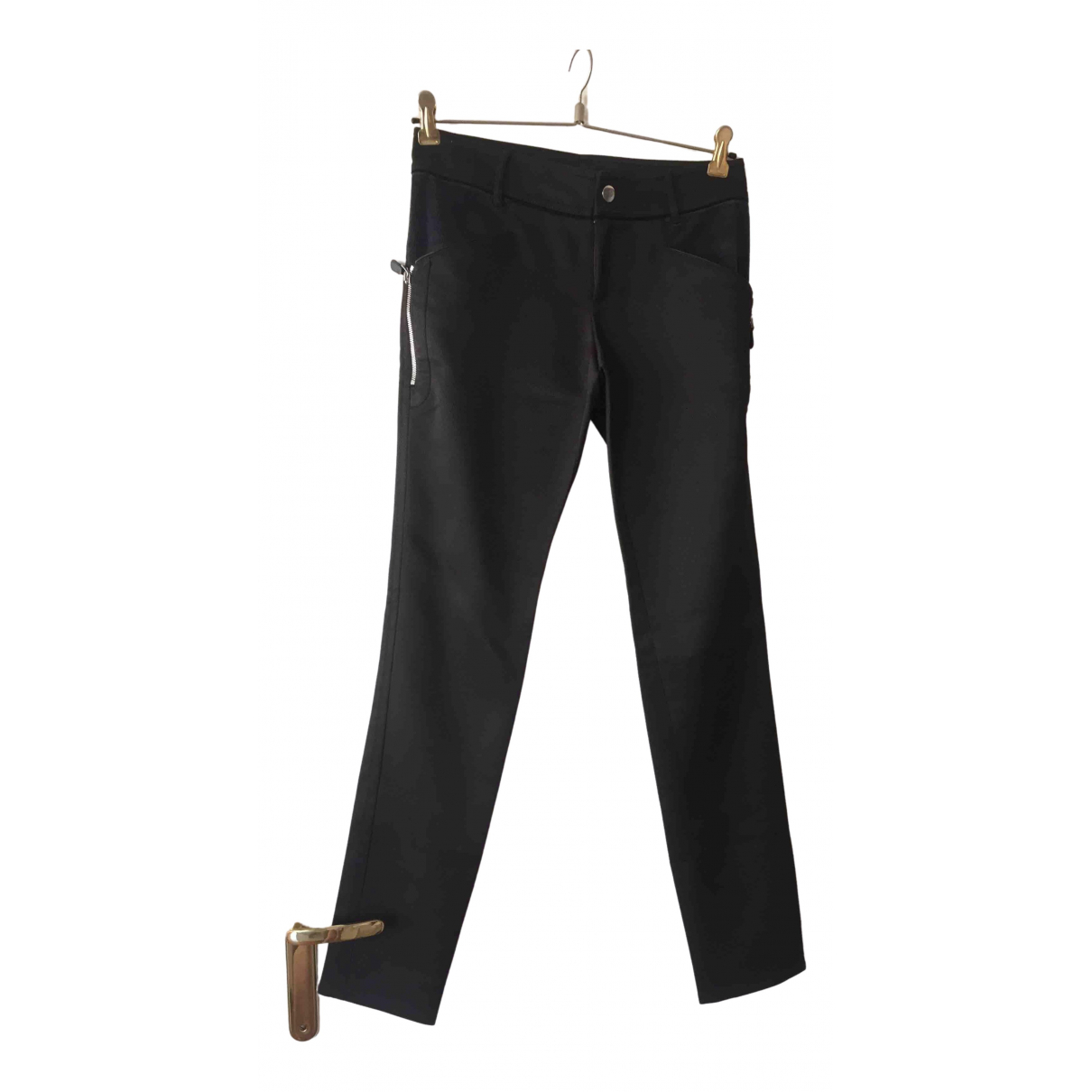 Gucci \N Brown Trousers for Women 40 FR