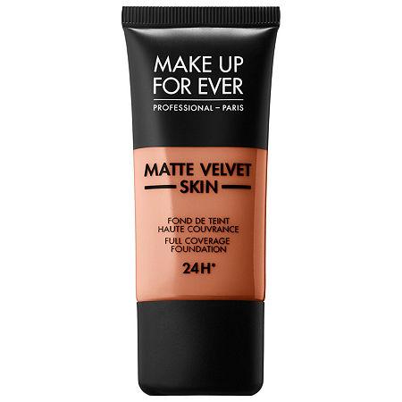 MAKE UP FOR EVER Matte Velvet Skin Full Coverage Foundation, One Size , No Color Family