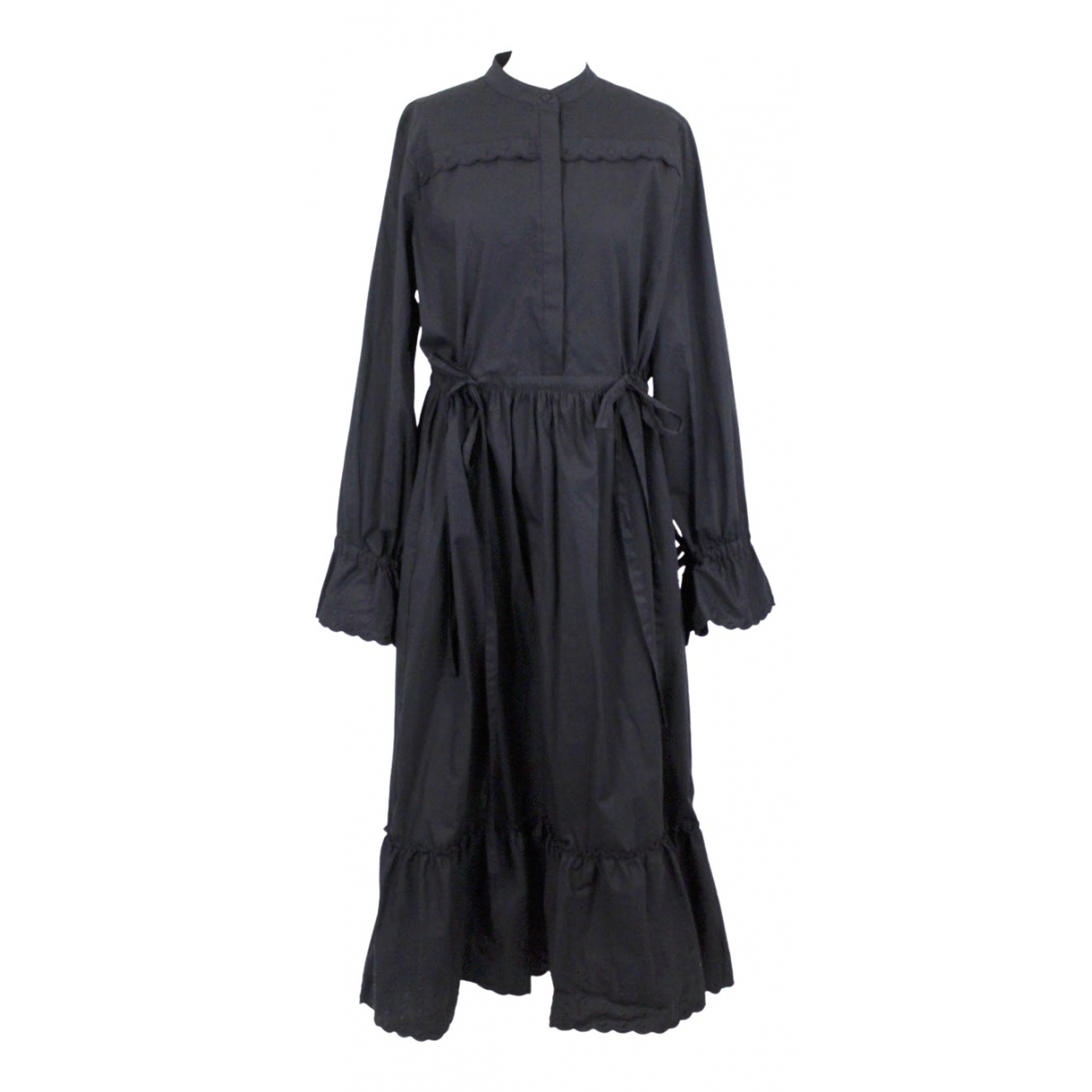 See By Chloé \N Black Cotton dress for Women 44 FR