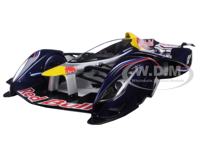 Red Bull X2014 Fan Car Red Bull Color Sebastian Vettel 1/18 Model Car by Autoart