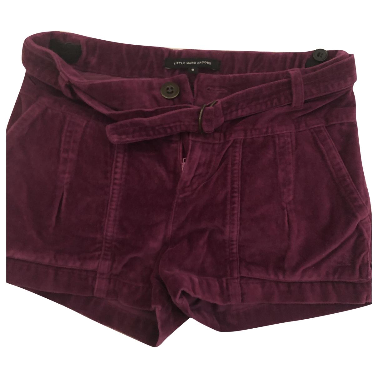 Little Marc Jacobs \N Purple Velvet Shorts for Kids 6 years - up to 114cm FR