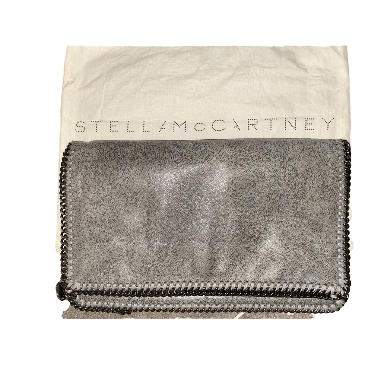 Stella Mccartney Falabella Grey Clutch bag for Women \N