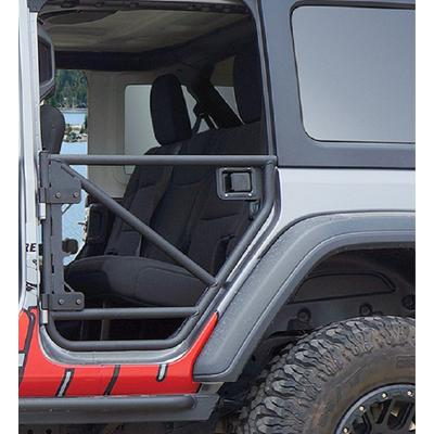 Rancho Rear Tube Doors (Black) - RS62122B