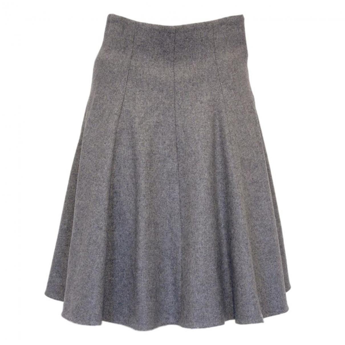 Dolce & Gabbana \N Grey Wool skirt for Women 36 IT