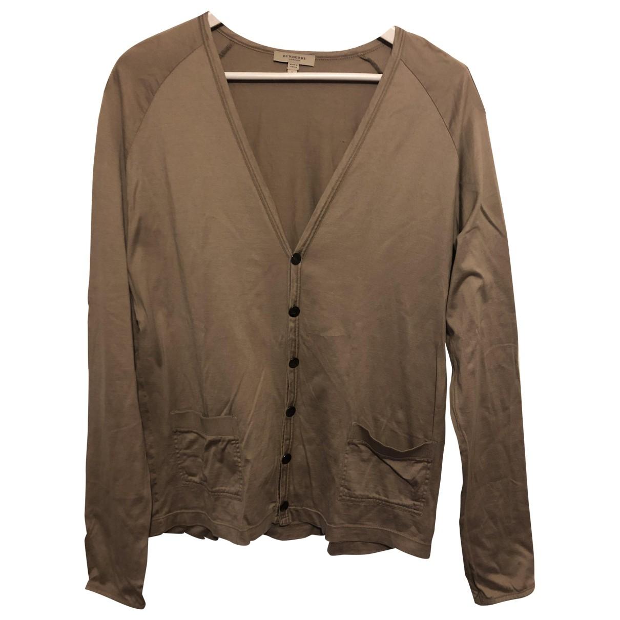 Burberry \N Camel Cotton Knitwear & Sweatshirts for Men L International