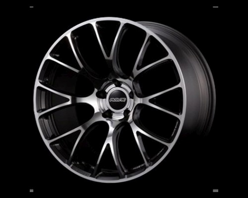 Volk Racing WK6637WRM G16 Wheel 19x10.5 5x120 37mm REFAB w/ Side Dark Gunmetal