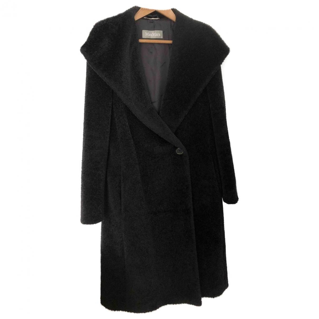 Max Mara \N Black Wool coat for Women 42 FR