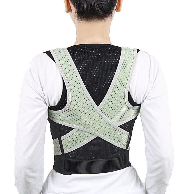 IPRee® Back Support Adjustable Breathable Posture Corrector Braces Humpback Correction Belt