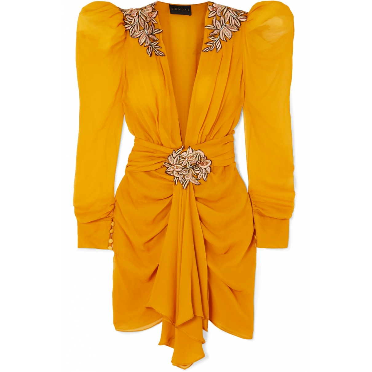 Dundas \N Yellow dress for Women 8 UK