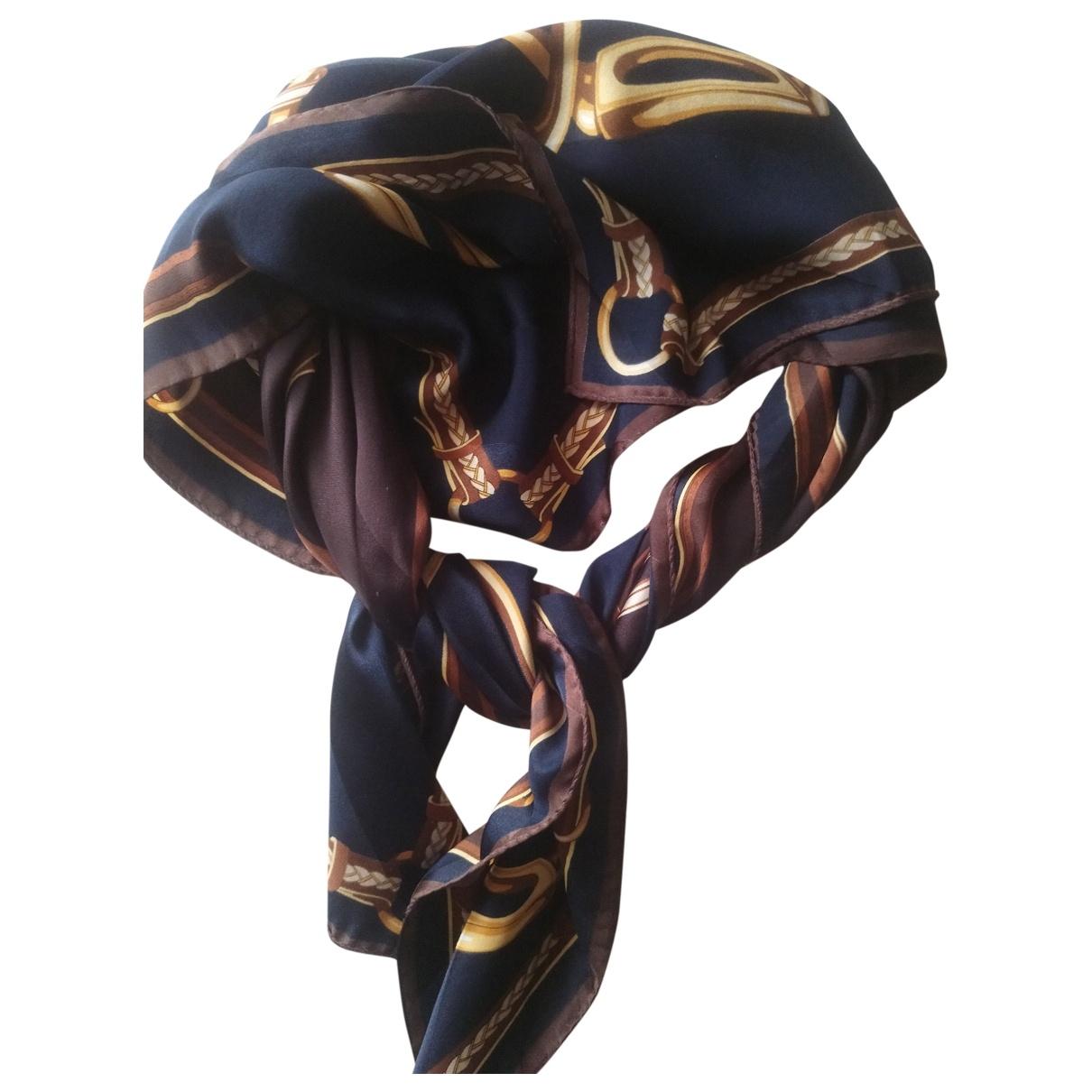 Pierre Cardin \N Brown Silk Silk handkerchief for Women \N