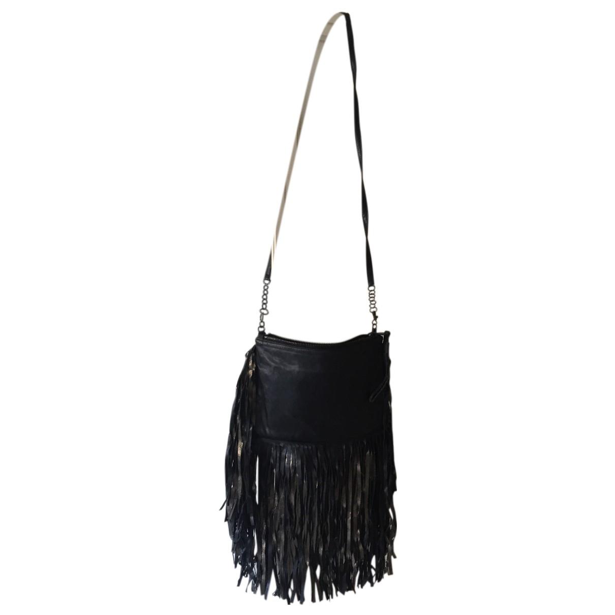 8pm \N Black Leather handbag for Women \N