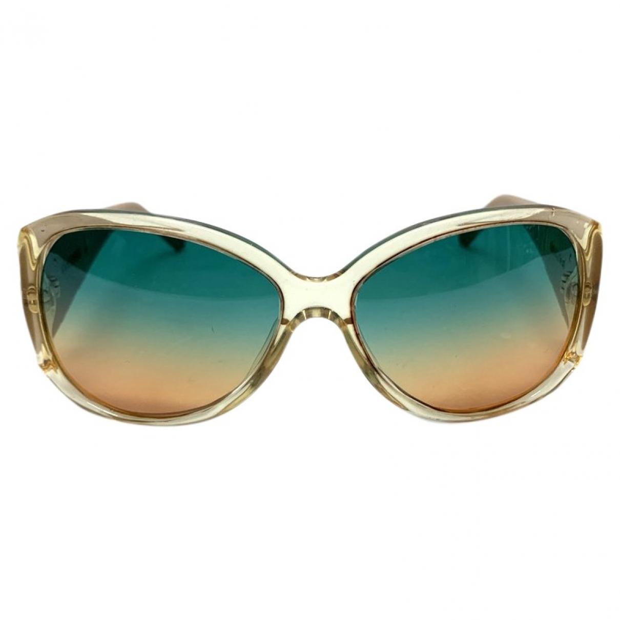 Versace \N Beige Sunglasses for Women \N
