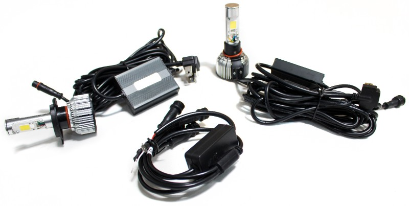 Race Sport Lighting 9007CARGB 9007-3 High/Low True 360 Series LED 5-sided design Headlight Conversion Kits with different Kelvin Options