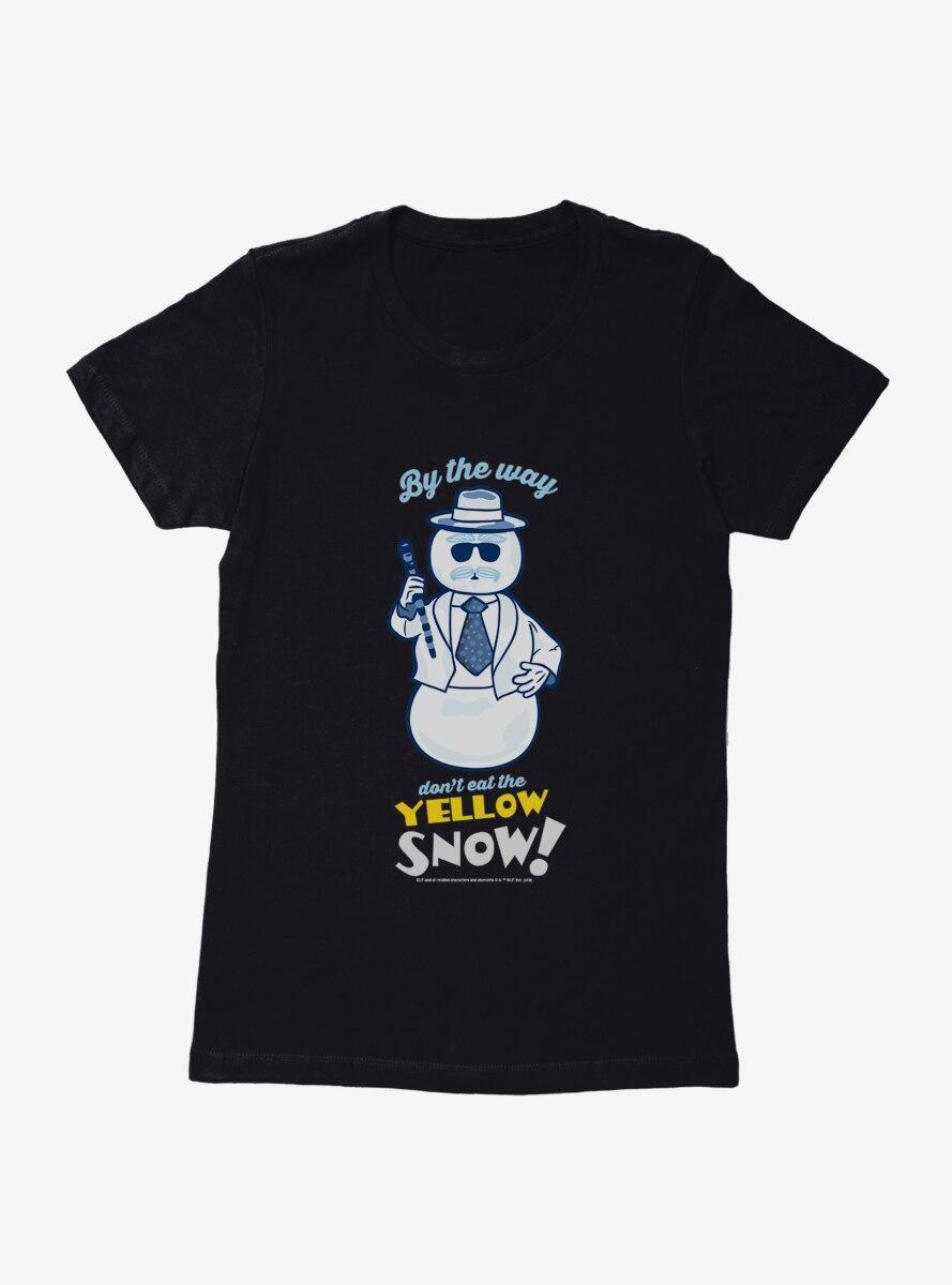 Elf Leon Don't Eat Yellow Snow Womens T-Shirt