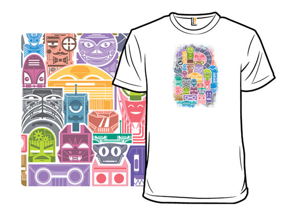 Bot City T Shirt