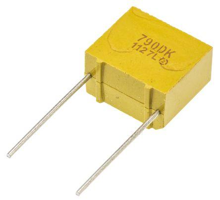 Vishay Tantalum Capacitor 10μF 40V dc MnO2 Solid ±10% Tolerance , 790D